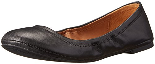 Lucky Women's Emmie Ballet Flat, Black, 11 W US (Lucky Brand Made In Usa compare prices)