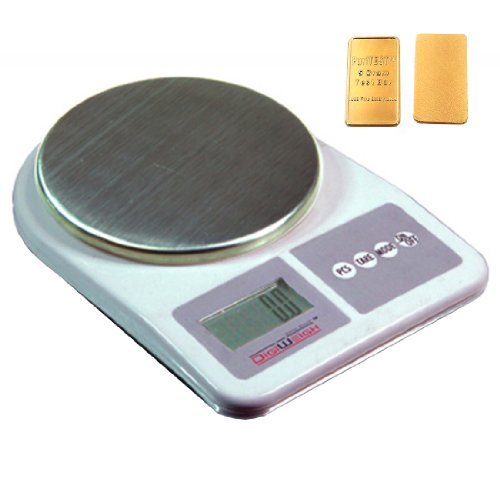 Digiweigh Dwp1001 Digital Scale 1000 X 0.1G Weigh Gram Ounce Oz Grain Gn Carat, Scanner, Handbag, Dress front-318731
