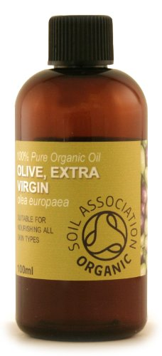 100ml Organic Olive Extra Virgin Oil - 100% Pure Cold Pressed Carrier Oil
