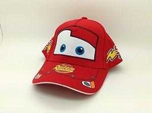 Amazon Com Disney Pixar Cars Hat Lightning Mcqueen Kids