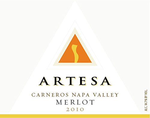 2010 Artesa Vineyards Carneros Napa Valley Merlot 750 Ml