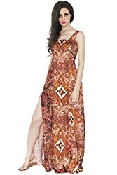 Divaat All That Abstracts Maxi Dress