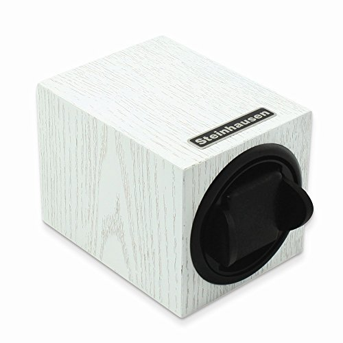 Steinhausen Single White Wood Grain Watch Winder