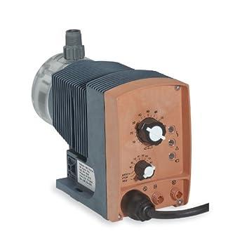 Prominent high-flow, high-pressure manual control pump, 8.4 GPH, 115 VAC, 50/60 Hz