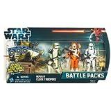 Star Wars Republic Clone Troopers Battle Pack