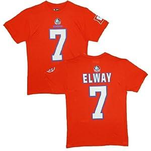 Denver Broncos John Elway Orange Eligible Receiver Name and Number T-Shirt by VF