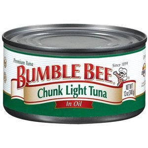 bumble bee tuna fish chunk light in oil 4 pack 5 oz cans. Black Bedroom Furniture Sets. Home Design Ideas