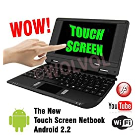 Touch Screen Black MINI LAPTOP NETBOOK 7