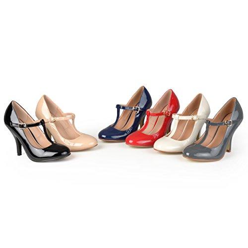 Brinley Co Women's Nelson 03 Dress Pump Regular & Wide Sizes 6