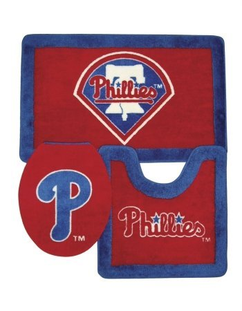 Philadelphia Phillies 3 Piece Bath Rugs at Amazon.com