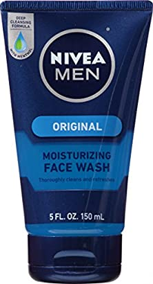 buy Nivea Men Face Wash Cleans And Moisturizing With Menthol And Vitamin E, 5 Ounce