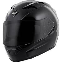 Scorpion EXO-T1200 Solid Street Motorcycle Helmet (Black, X-Large) by Scorpion