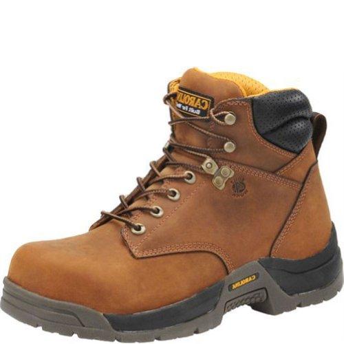 Carolina Broad Toe Waterproof Work Boot Soft Toe