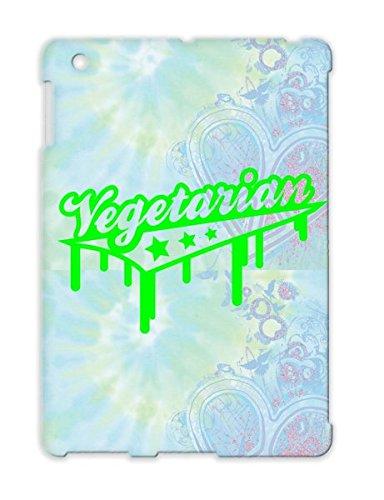 Vegetarian Graffiti A1 Eat Welfare Food Religion Philosophy Veggi Natural Healthy Animal Raw Organic Cover Case For Ipad 4 Green Tpu front-134360