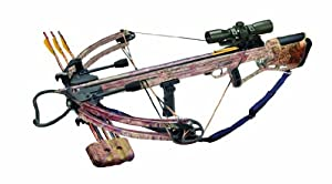 Arrow Precision Inferno Blaze II Compound Crossbow with Free Rope Cocker, Camouflage by Arrow Precision