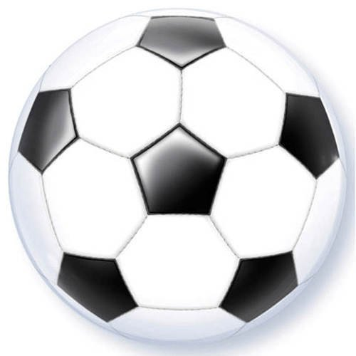Soccer Ball Bubble Balloon - 1