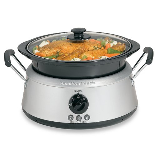 Smart Hamilton Beach® 3- In -One Slow Cooker