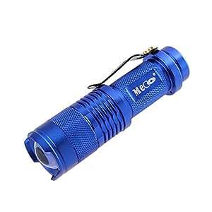 MECO(TM) Mini CREE Led Flashlight Torch Adjustable Zoom Light Lamp