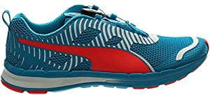 PUMA Men's Speed 300 S Disc Water Shoe, Atomic Blue/Red, 15 D US