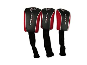 NFL Atlanta Falcons 3 Pack Mesh Longneck Headcover Set by WinCraft