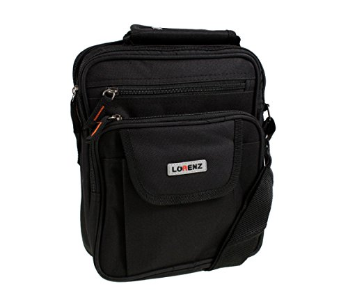 Mens Ladies Canvas Messenger Shoulder/Travel