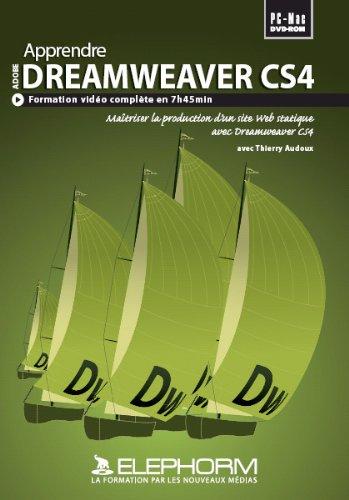 Apprendre Dreamweaver CS4 – Formation complète