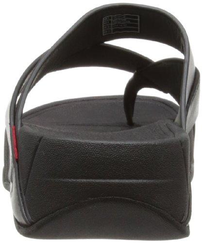 FitFlop Women's Sling Thong Sandal,Black,8 M US