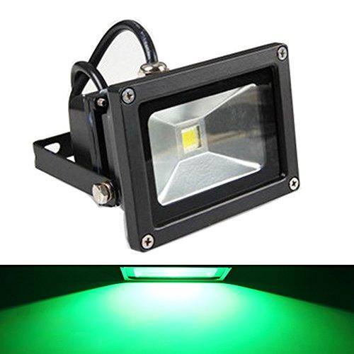GLW 10w 12V AC/DC Waterproof Led Green Flood Light