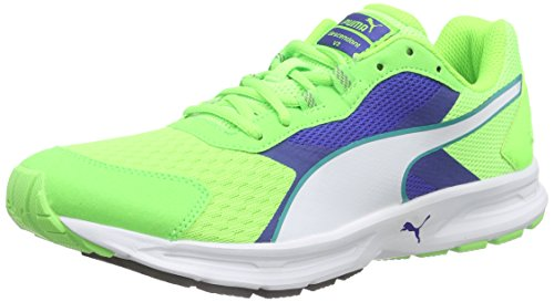 PumaDescendant v3 - Scarpe Running Uomo , Verde (Grün (green gecko-surf the web-white 11)), 41
