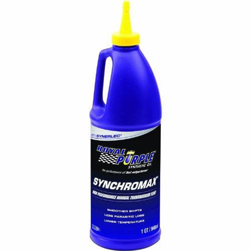 Royal Purple 01512 Synchromax High Performance Synthetic Manual Transmission Fluid - 1 Quart
