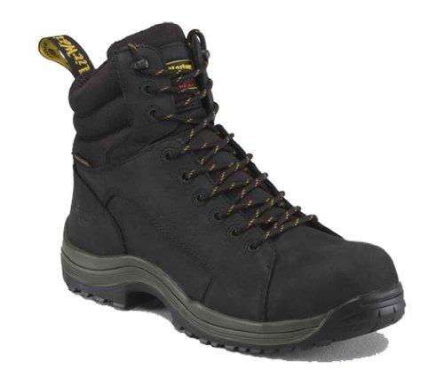 Dr. Martens Work Men's Bersa SD 9-Tie Boot Black Boot UK 9 (US Men's 10, Women's 11) D - Medium
