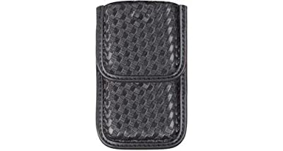 Bianchi 7937 Smartphone Case, Basketweave Black w/ Velcro by Bianchi