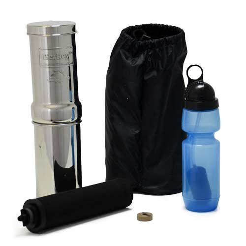 Go-Berkey-Kit-Includes-Stainless-Steel-Portable-Water-Filter-System-with-Sport-Berkey-Water-Bottle-Filter-included-and-a-Vinyl-Black-Carrying-Case