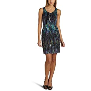 Kensie Women's Lines Voile Dress: Clothing from amazon.com