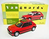 Corgi 1:43 Peugeot 205 1.9 GTI Car Model (Cherry Red)