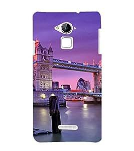 PrintVisa Travel London Bridge Design 3D Hard Polycarbonate Designer Back Case Cover for Coolpad Note 3