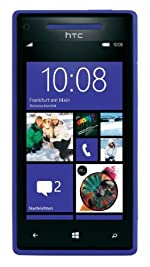 HTC 8X 16GB AT&T Unlocked GSM 4G LTE Windows 8 OS Smartphone - Blue