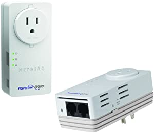 NETGEAR Powerline 500Mbps 2-Port Adapter -  Starter Kit (XAVB5602)