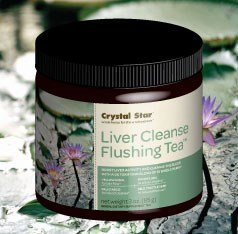 Crystal Star - Liver Cleanse Flushing Tea - 3 Oz.