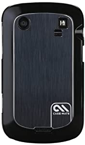 Case-Mate Brushed Aluminum Barely There Case for BlackBerry Bold Touch 9900/9930 - 1 Pack - Case - Retail Packaging - Black
