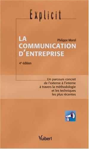 La communication d'entreprise