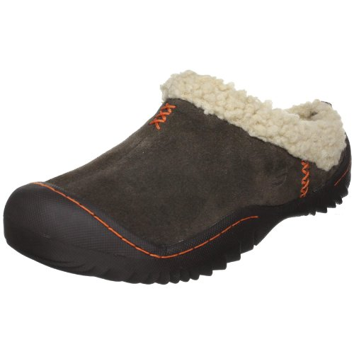 Skechers Women's Spartan-Snuggly Slipper,Chocolate,5.5