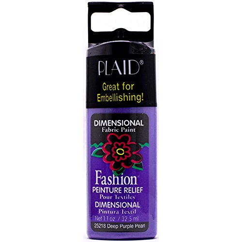 plaid-fashion-dimensional-fabric-paint-in-assorted-colors-11-ounce-25218-deep-purple-pearl