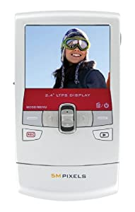 Vistaquest HDV-524 Caméscope de poche Zoom Numérique 4x 720p Rouge