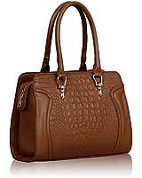 KCMODE Ladies Designer Celebrity Style Womens Faux Croc Leather Tote Handbag