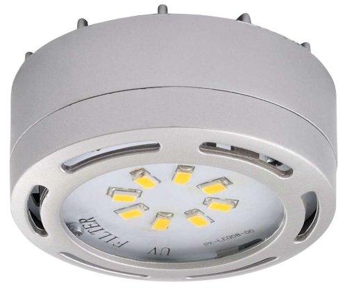 Ledp120Nk - 120V Direct Led Puck Light-Nickel