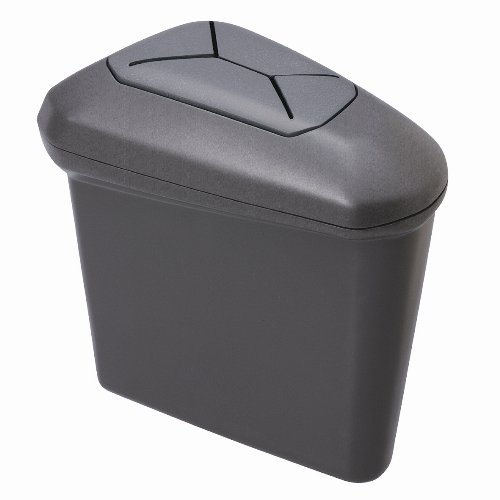 カーメイト(CARMATE) 車内スッキリ プリウス(ZVW30系)専用 ドアポケット取付ゴミ箱 グレー NZ506