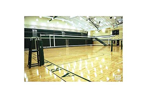 OmniSteel Collegiate Telescopic Competition Volleyball System (With Sleeves and Covers)