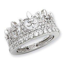 princess tiara purity ring jewelry