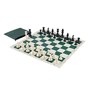 Wholesale chess basic club chess set combo forest green toys games - Simple chess set ...